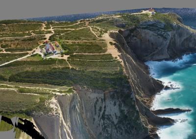 Modelo 3D do Cabo Espichel