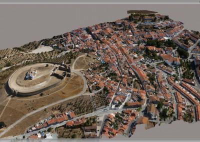Modelo 3D da Vila de Arraiolos