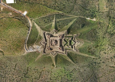 Levantamento Aéreo do Forte da Graça, Elvas