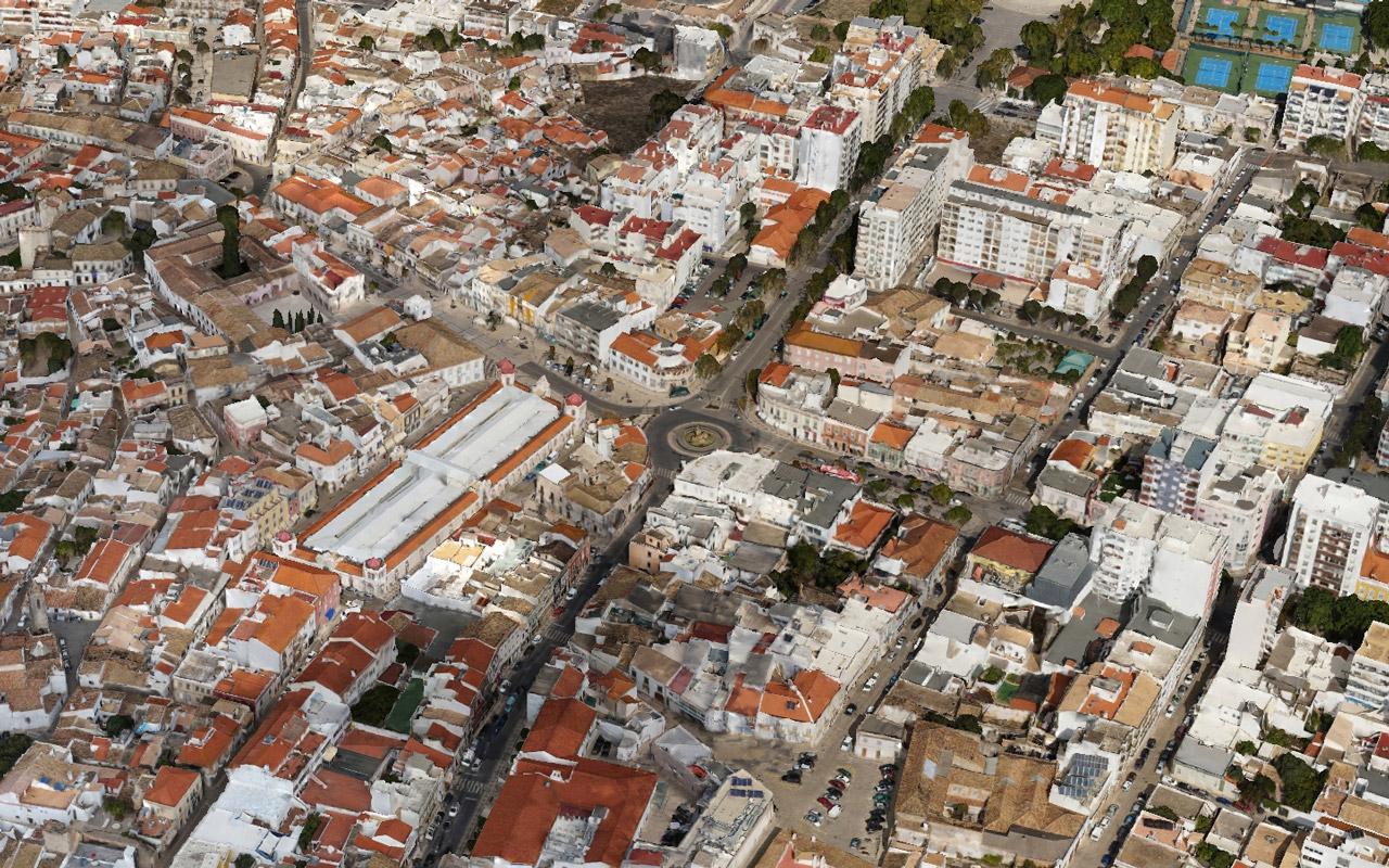 Modelo 3D da Cidade de Loulé