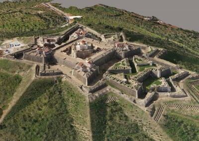 Modelo 3D do Forte da Graça, Elvas